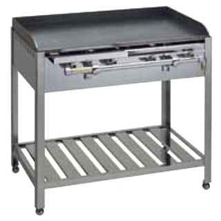 テーブル式 鉄板焼器 GT-74 都市ガス メイチョー
