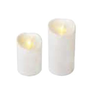 【まとめ買い10個セット品】LEDキャンドル ルミナラ アウトドアピラー3.75×5 【メイチョー】