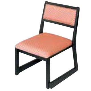 木製都高座椅子 新香(布)フレーム黒 12017605 メイチョー