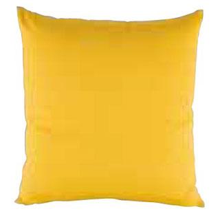 【まとめ買い10個セット品】綿 座布団 つむぎ調無地 からし 460×460 セット メイチョー