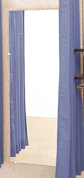 壁面鏡 61×152cm 【フィッティングルーム 試着室 簡易 更衣室 着替え 催事場 セール イベント 催し会場】 】