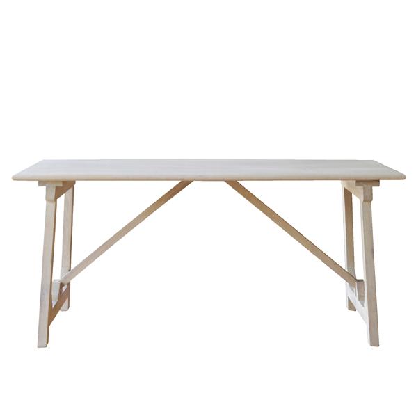アンティーク古木テーブルW160cmオーク 【メイチョー】