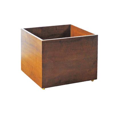 木製多段テーブル用下部収納BOX 大 【メイチョー】
