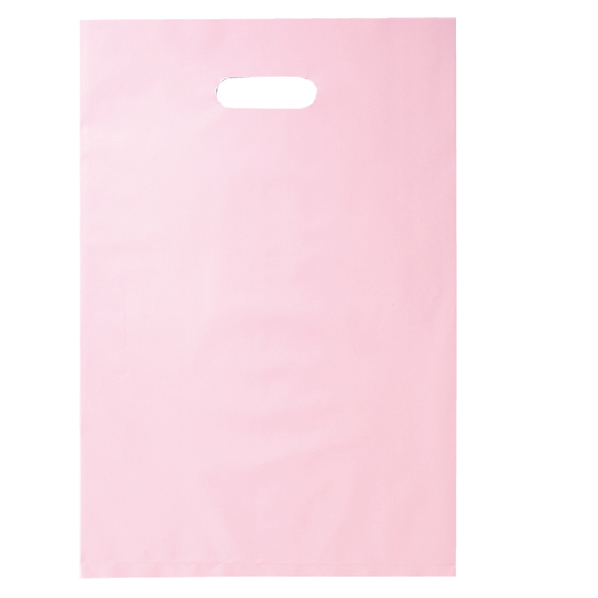 ポリ袋ソフト型 ピンク 25×40cm 2000枚 【 ラッピング用品 レジ袋・ポリ袋 スクエアバッグ(無地) ポリ袋ソフト型 カラー ピンク 】【メイチョー】