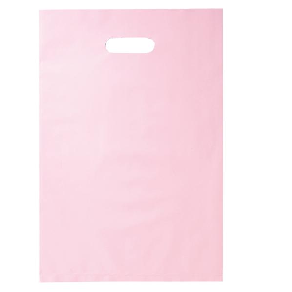 ポリ袋ソフト型 ピンク 50×60cm 500枚 【 ラッピング用品 レジ袋・ポリ袋 スクエアバッグ(無地) ポリ袋ソフト型 カラー ピンク 】【メイチョー】