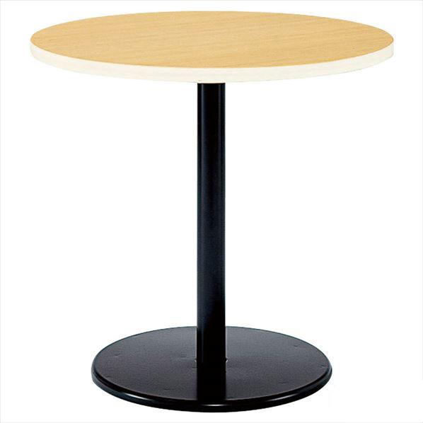 丸型テーブル 塗装脚 直径90cm ナチュラル 【メイチョー】
