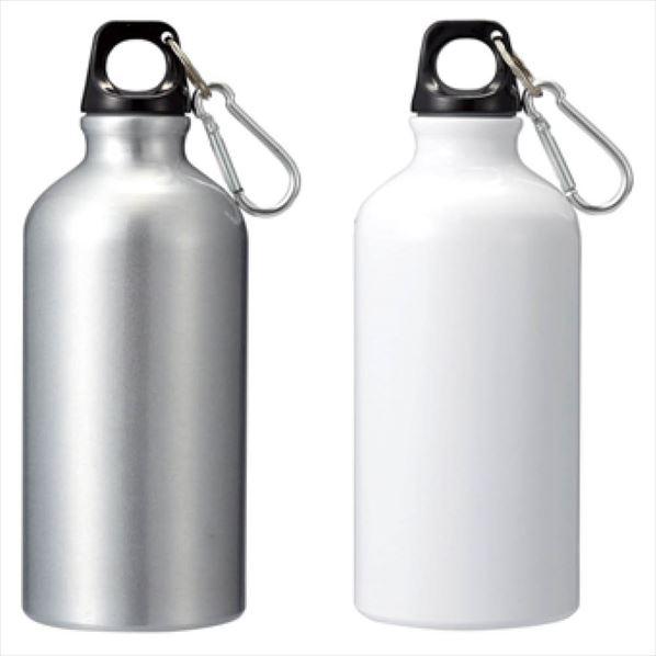 アルミボトル500ml(カラビナ付き)60個 【メイチョー】