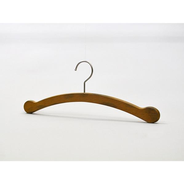 木製ハンガーミミタブスタイルOB W38cm50本 肩厚1.3cm 【メイチョー】