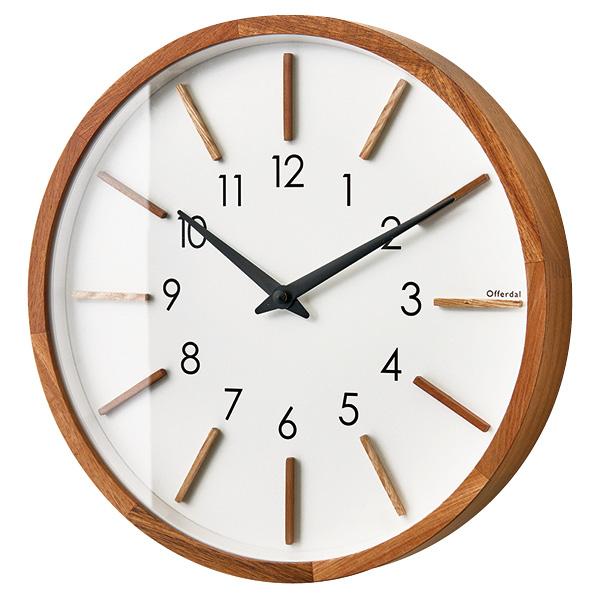 ウォールクロック モトレフ 壁掛け時計 1個 【メイチョー】