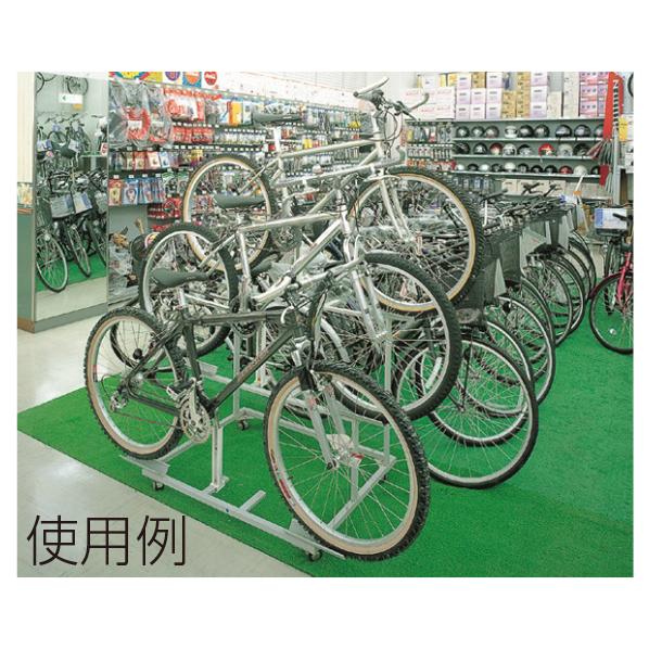 HC自転車什器D一般自転車用 【メイチョー】