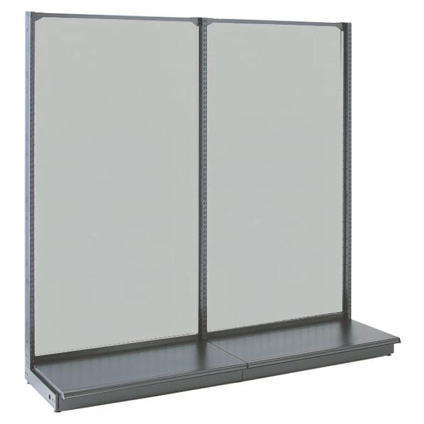 KZ鉄地グレー片面ボードタイプ120×270 本体 【メイチョー】