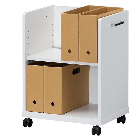 オフィスコ2 木製デスク周りワゴン天板無 タイプ 【メイチョー】