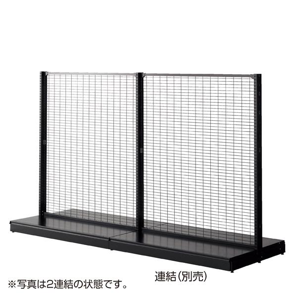 KZ両面ネット(75×25)W120H135 ブラック 本体 【メイチョー】