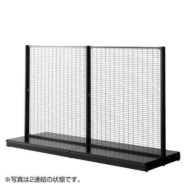 KZ両面ネット(75×25)W60H180 ブラック 本体 【メイチョー】