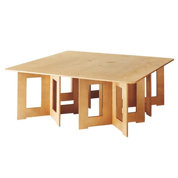 木製簡易テーブル 大 【メイチョー】