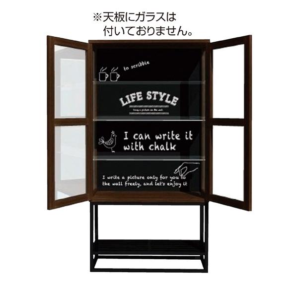 ★ショーケース ガル ダークブラウン ハイタイプ 【メイチョー】