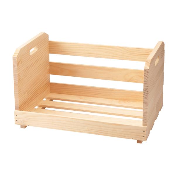 ボックス チリトリ型 大ボックス(無塗装) 【メイチョー】