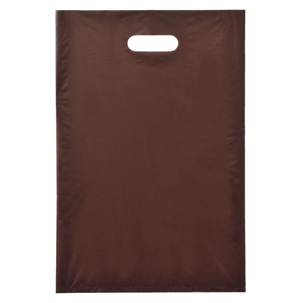 ポリ袋ハード型 ブラウン 25×40cm2000枚 【メイチョー】