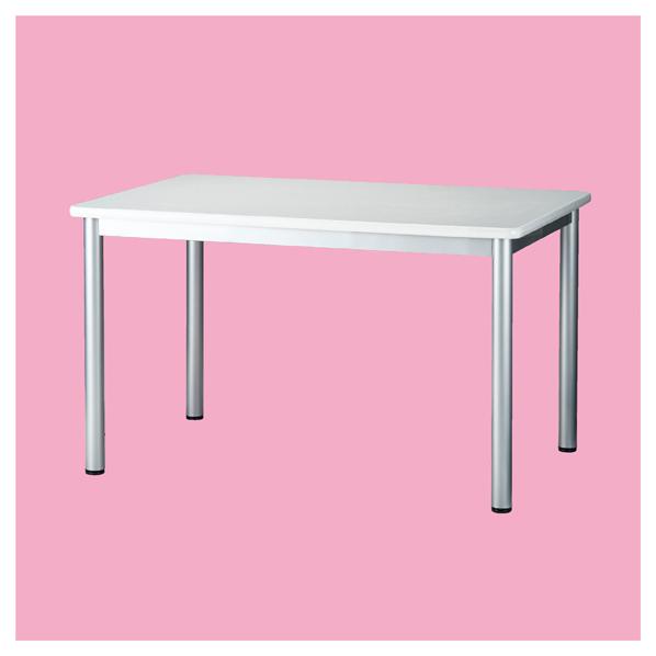 ミーティングテーブルソフトエッジ90×90cmナチュラル 【メイチョー】