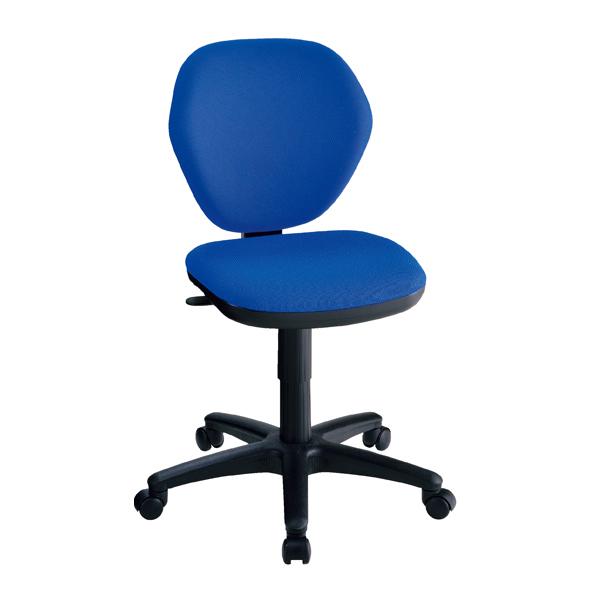オフィスチェア ハイバック ブルー 【 オフィス家具 チェア・椅子 オフィスチェア・事務椅子 オフィスチェア ハイバック 】【メイチョー】