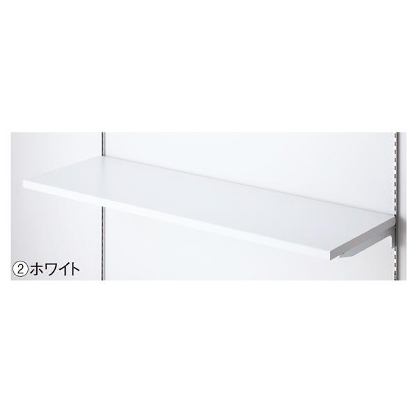【まとめ買い10個セット品】 木棚セットW120×D30cm ホワイト 【メイチョー】