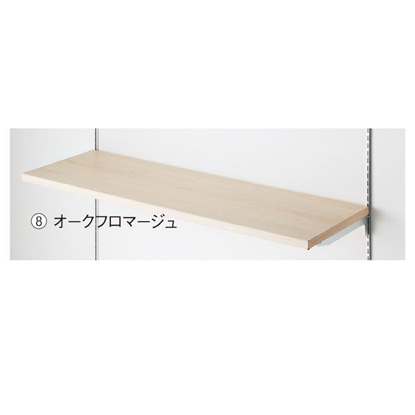 【まとめ買い10個セット品】 木棚W120×D35cm オークフロマージュ 【メイチョー】