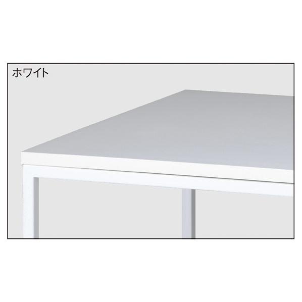 【まとめ買い10個セット品】 ホワイトショーテーブル ホワイト W108D45 【メイチョー】