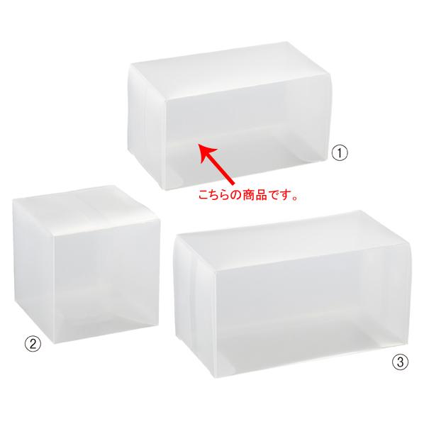 【まとめ買い10個セット品】 半透明ボックス 6×6×11cm 10枚 【メイチョー】