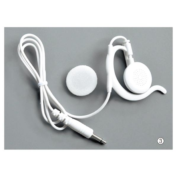 【まとめ買い10個セット品】 トランシーバーDJ-P×5 イヤホンマイク 耳カケ型 白 【メイチョー】