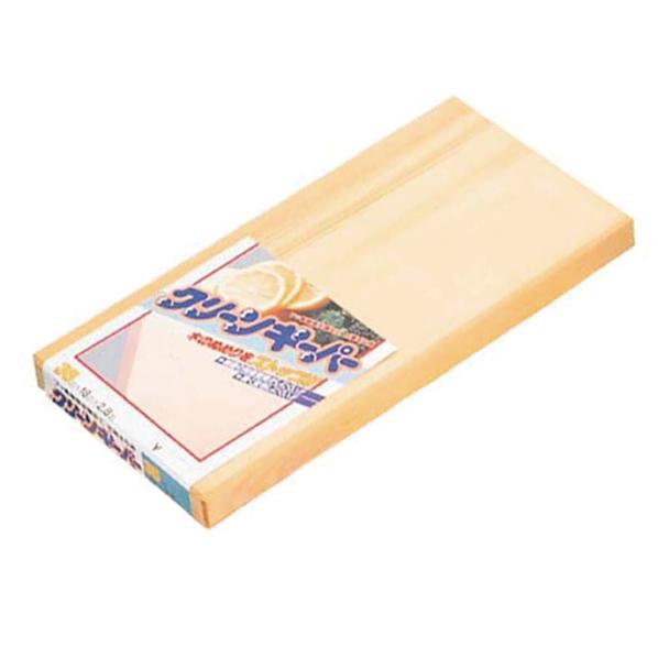 【まとめ買い10個セット品】 抗菌 スプルス まな板 クリーンキーパー 390×195×H28 【メイチョー】