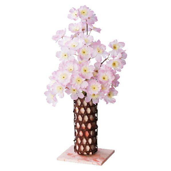 【まとめ買い10個セット品】 桜カゴアレンジ1個 【桜 サクラ さくら 春 飾り イベント 装飾】 【メイチョー】