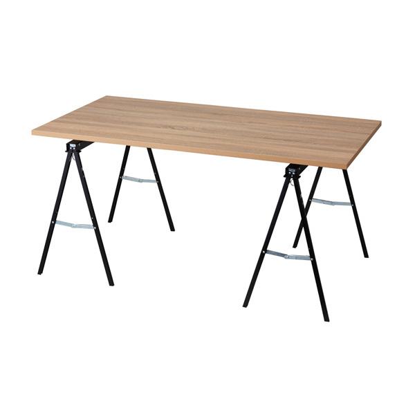 【まとめ買い10個セット品】 ハコマルシェ簡易テーブルW150cmタイプ ラスティック 【メイチョー】
