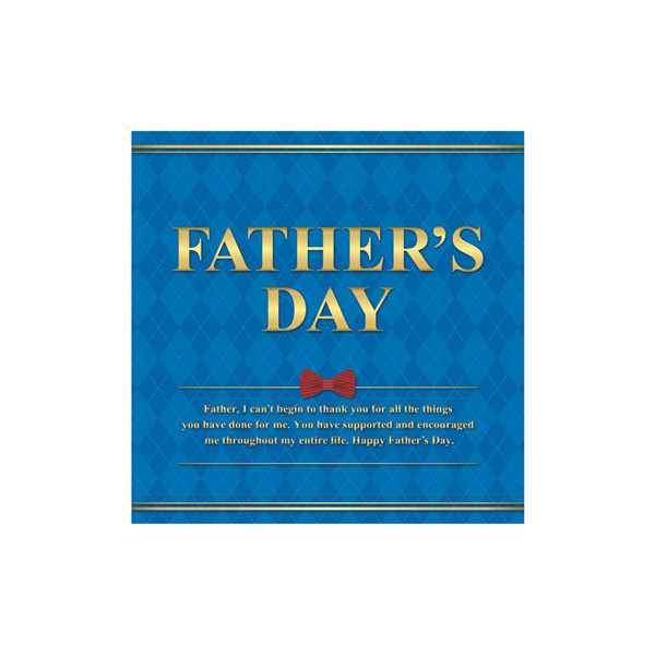 【まとめ買い10個セット品】 FATHERS DAY テーマポスター 10枚 【メイチョー】