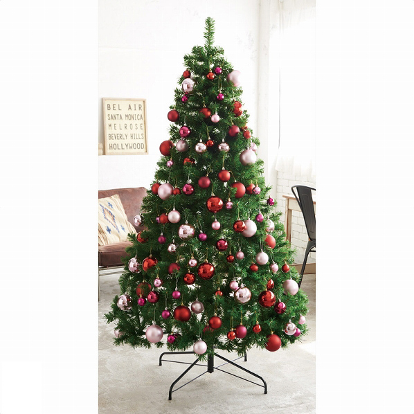 PVCツリー グリーンH210×W120cm 1本【クリスマス クリスマスツリー ツリー 店舗装飾 飾り ディスプレイ christmas xmas】【メイチョー】