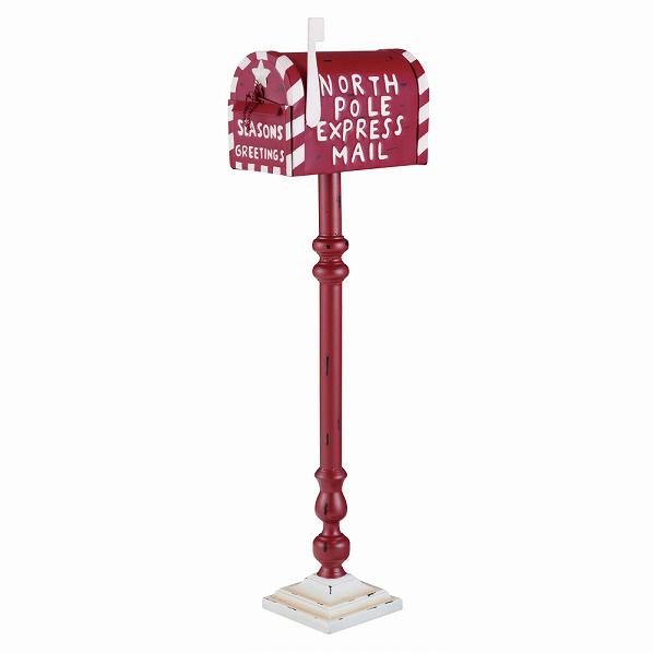 クリスマス ポストスタンド1台【クリスマス 置物 店舗装飾 飾り ディスプレイ christmas xmas】【メイチョー】