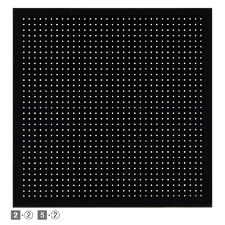【まとめ買い10個セット品】 有孔パネル スリット取付タイプ ブラック W90cm 1セット 【店舗什器 パネル 壁面 小物 ディスプレー ハンガー 店舗備品】