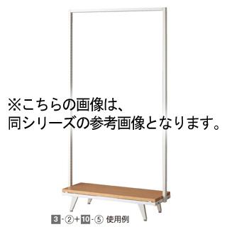 【まとめ買い10個セット品】 tumikiフレーム専用木製ステージ W90cm用 ラスティック柄 1台【シリーズ什器 tumiki】 【店舗什器 小物 ディスプレー 消耗品 店舗備品】