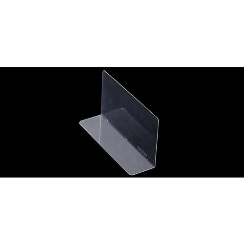 【まとめ買い10個セット品】 PET製仕切板板(10枚組) 24×5×10cm 10枚【店舗什器 小物 ディスプレー 店舗備品】