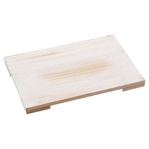 【まとめ買い10個セット品】 木製ステージ アンティーク調 ホワイト W31cm【ディスプレイ用品 店舗什器 小物 ディスプレイ アクセサリーディスプレイ ジュエリーディスプレイ ショーケース 展示用品 業務用】