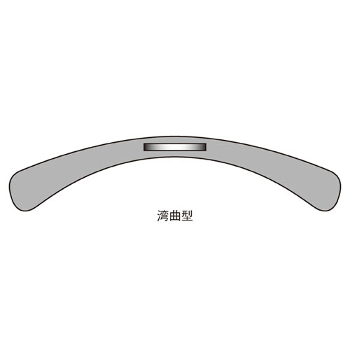 スチール製ハンガー W42cm マットニッケル【店舗什器 パネル ディスプレー ハンガー 棚 店舗備品】
