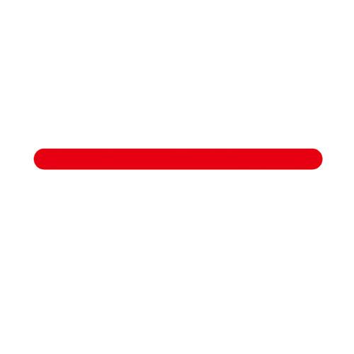 【まとめ買い10個セット品】 サトー2段ラベラー 小印字用シール 中線(強粘) 10巻【店舗什器 スーパー 値札 賞味期限など印字 消耗品 店舗備品】