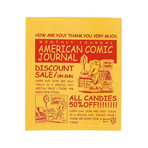 【まとめ買い10個セット品】 アメリカンコミック ギフトバッグ 11×13 12000枚【店舗什器 小物 ディスプレー ギフト ラッピング 包装紙 袋 消耗品 店舗備品】