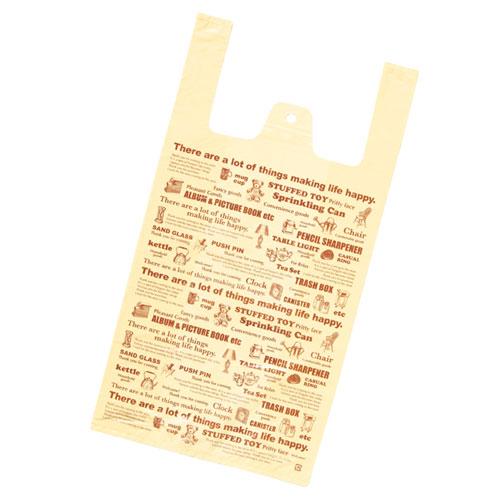 【まとめ買い10個セット品】 レジ袋 アタッチメント 18×35(23)×横マチ11 4000枚【店舗什器 小物 ディスプレー ギフト ラッピング 包装紙 袋 消耗品 店舗備品】