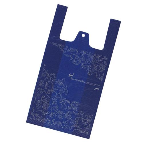 【まとめ買い10個セット品】 レジ袋 アラベスク 18×35(23)×横マチ11 4000枚【店舗什器 小物 ディスプレー ギフト ラッピング 包装紙 袋 消耗品 店舗備品】