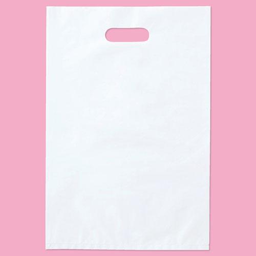 【まとめ買い10個セット品】 ポリ袋 ハード型 白 30×45cm 1000枚【 ラッピング用品 包装 ラッピング袋 ポリ袋 レジ袋 カラー 消耗品 業務用 】