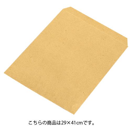 【まとめ買い10個セット品】 紙袋 平袋 茶無地 29×41cm 200枚【 ラッピング用品 包装 ラッピング袋 紙袋 ペーパーバッグ 消耗品 業務用 】
