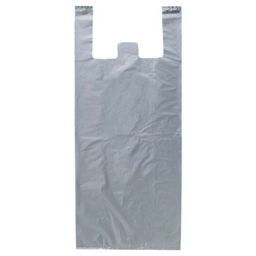 【まとめ買い10個セット品】 ジャンボバッグ シルバー3L 50×90cm 50枚【 ラッピング用品 包装 ラッピング袋 ポリ袋 レジ袋 大容量 ビッグ 特大 ジャンボ デザイン 業務用 】