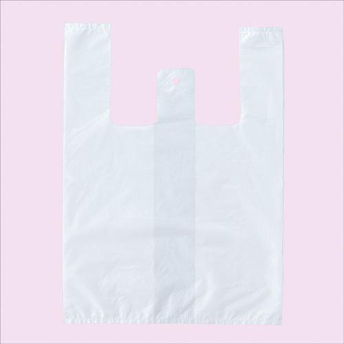 【まとめ買い10個セット品】 弁当用 レジ袋 白 LL 2000枚【ラッピング用品 包装 ラッピング袋 レジ袋 ポリ袋 カラー 消耗品 業務用 】