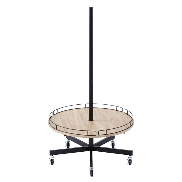 ラウンドタワー什器本体直径75cm 【メイチョー】
