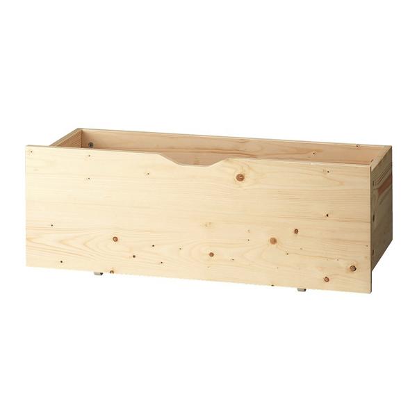 木製収納トロッコW90cm 生地クリア 1台 【メイチョー】